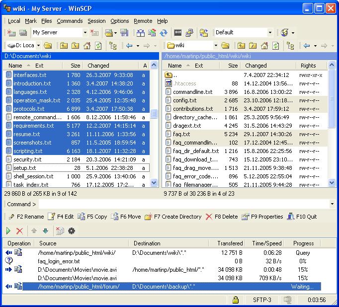 WinSCP 5.13.1