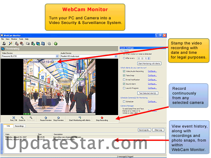 WebCam Monitor 6.21
