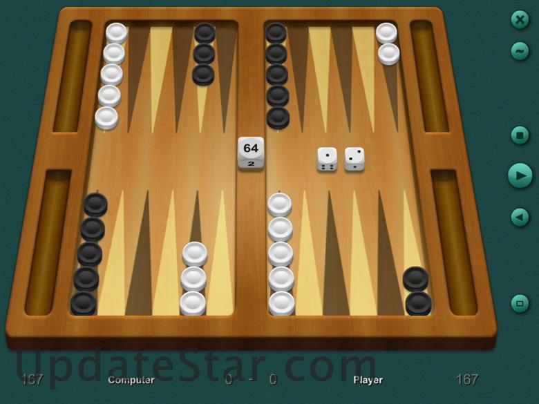 Скачать настольные игры для Nokia 5530 XpressMusic на Symbian 9.4 ZingMagic Backgammon (нарды), позволяет вам играть