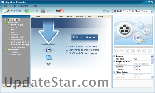 Any Video Converter Free 6.2