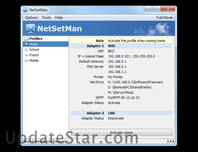 NetSetMan 4.6.0