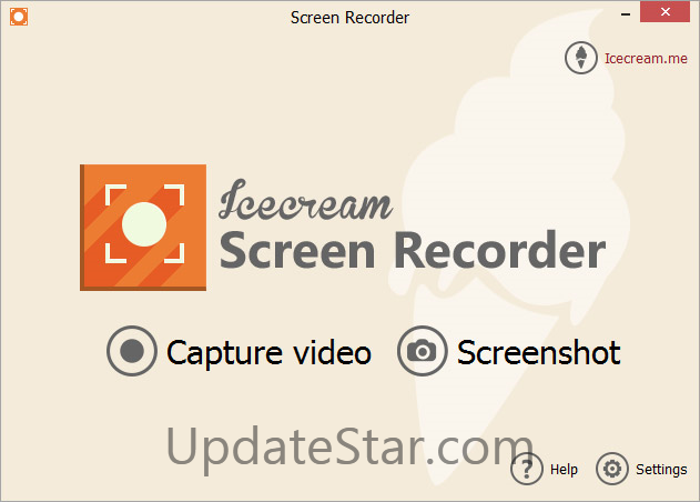 Icecream Screen Recorder 4.95