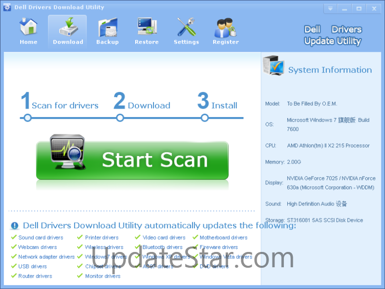Dell Drivers Download Utility