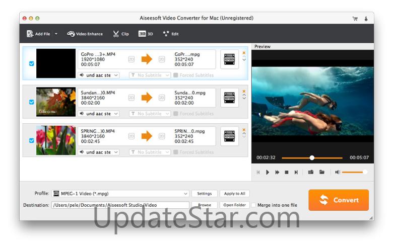 Aiseesoft Video Converter for Mac  8.0.86