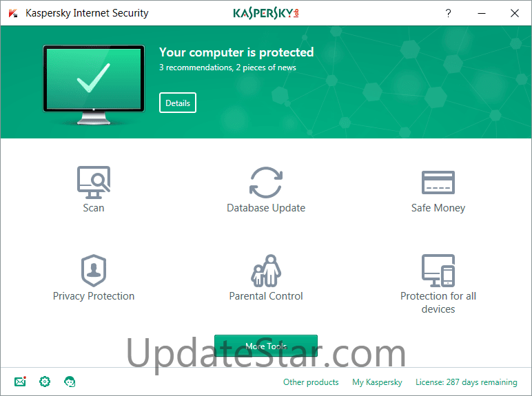 Kaspersky Internet Security 18.0.0.405