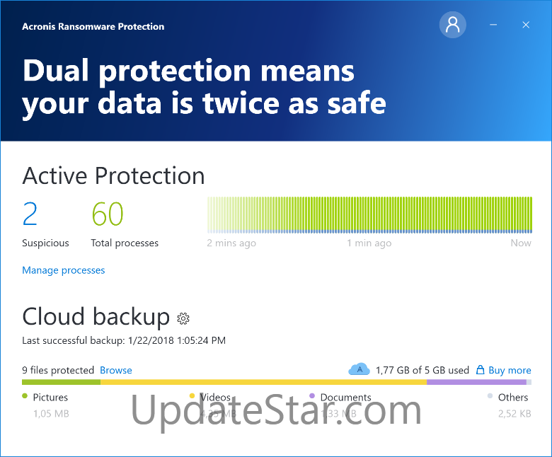 Acronis Ransomware Protection 1.0.1470