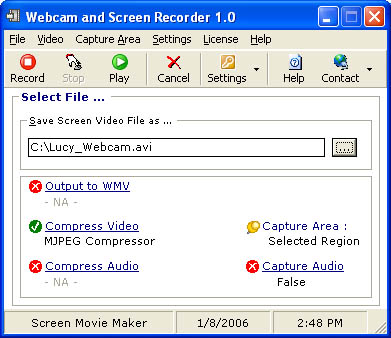 Webcam and Screen Recorder 8.0.53