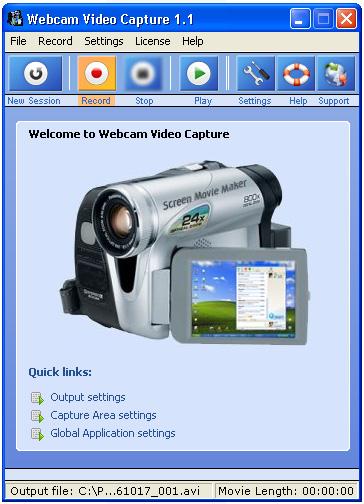 Webcam Video Capture 6.763