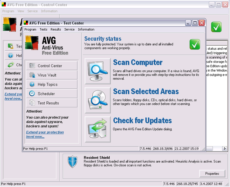 AVG Anti-Virus 3544