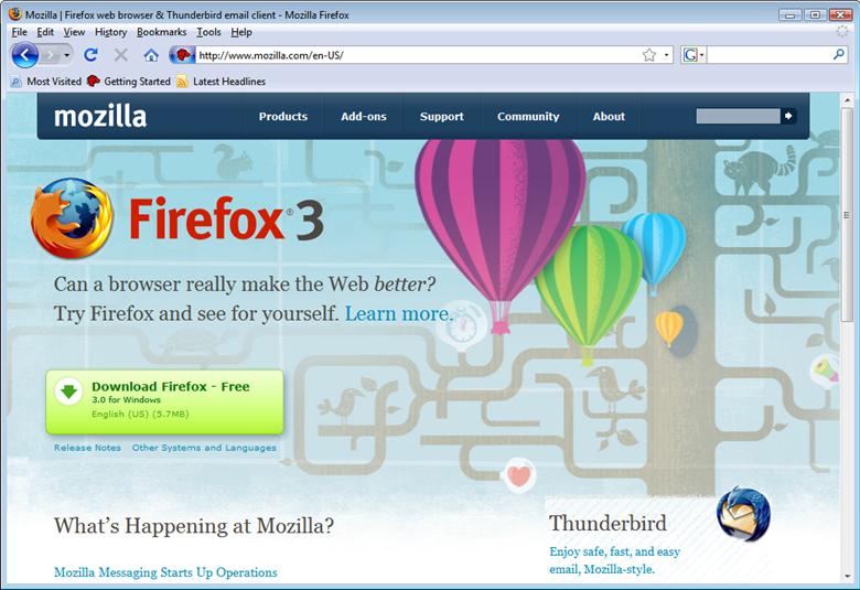 Mozilla Firefox 55.0.2