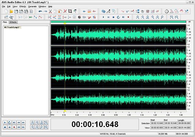 AVS Audio Editor  8.4.4.521